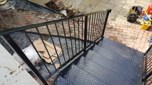 Staircase Design and weld for local customer in portsmouth