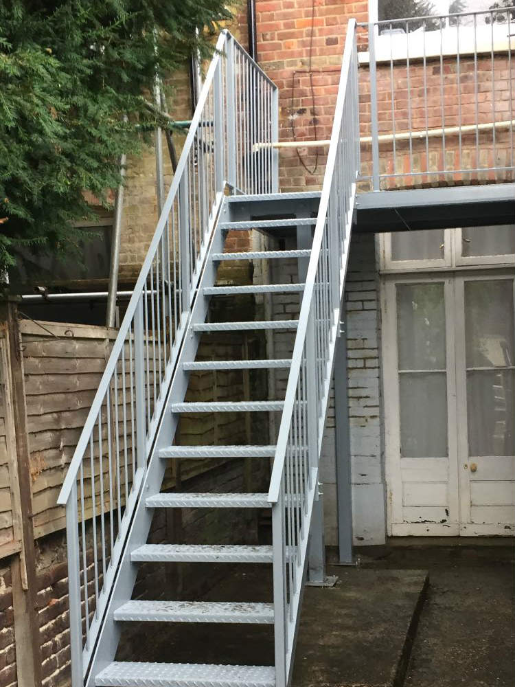 Domestic Terrace Balcony and Balustrade Fabrication