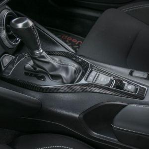 Carbon Fiber/Colored Shifter Trim Cover | 2016-2021 Chevy Camaro