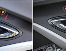 Carbon Fiber Door Handle Trim | 2016-2020 Camaro