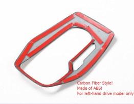 Colored Gear Shift Panel | 2016-2021 Chevy Camaro