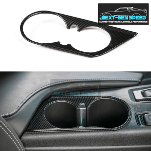 Carbon Fiber Cup Holder Cover | 2016-2021 Chevy Camaro