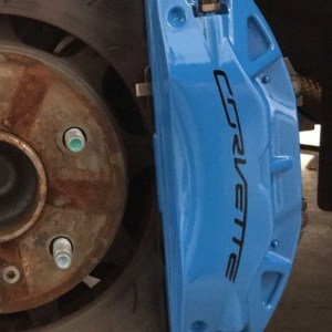 Corvette Brake Vinyl (High-Temp)