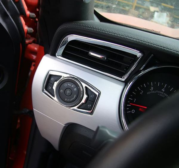 Colored Dash Air Vents | 2015 – 2021 Ford Mustang