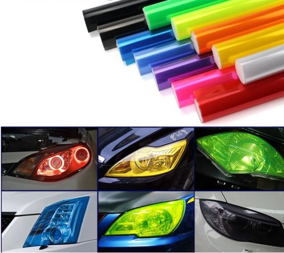 Colored Head Light/Tail Light Tint