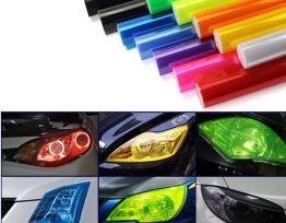 Colored Head Light/Tail Light Tint