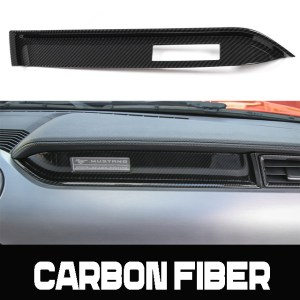 Carbon Fiber Dash Panel | 2015-2021 Ford Mustang