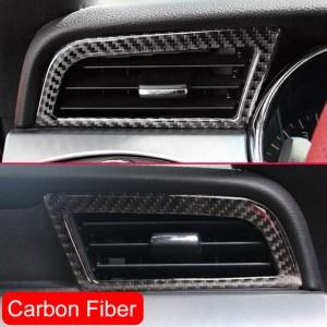 Carbon Fiber Air Vents | 2015-2020 Ford Mustang