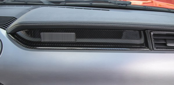 Carbon Fiber Dash Panel   2015-2021 Ford Mustang