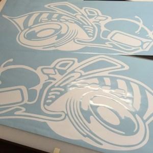 SRT/Super Bee Vinyl & Decal Set – 4x (6 Colors)