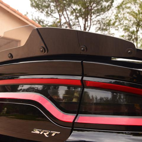 ZL1Addons Wicker Bill Stealth 2 Piece Polished Edge Compatible with 2015//19 Charger SRT /& Hellcat