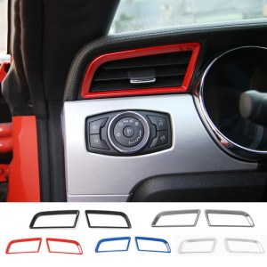 Colored Dash Air Vents | 2015-2020 Ford Mustang