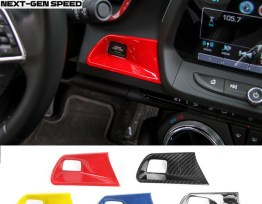 Colored/Carbon Fiber Push Button Start Trim | 2016-2020 Camaro