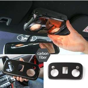 Carbon Fiber/Colored Upper Console | 2015-2021 Ford Mustang