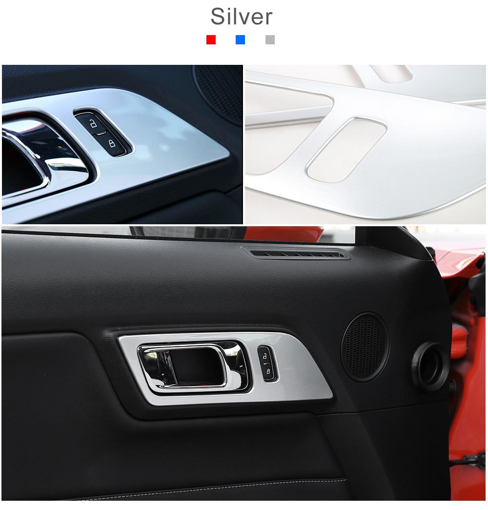 Carbon Fiber Door Handle Trim 15 18 Mustang Next Gen Speed Fuse Box Cover