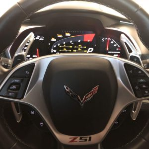 Colored Paddle Shifters | 2014-2019 Chevy Corvette C7