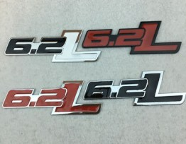 6.2L Badge (4 Styles) – 2010-2019 F-150