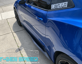 ZL1 Style Side Skirts – Matte, Gloss, & Carbon | 2016-2020 Camaro
