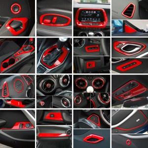 Red Interior Trim Kit | 2016-2020 Camaro