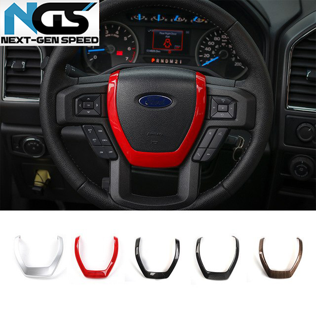 Steering Wheel Trim 5 Finishes 16 18 Ford F 150 Next Gen Speed