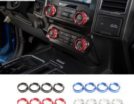 Colored Interior Knob Covers | 16-18 Ford F-150