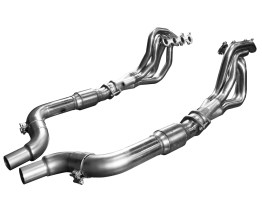 2015 + Mustang 5.0L 4V 1 7/8 x 3 Inch Stainless Steel Headers w/Catted OEM Connection