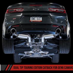 AWE Tuning Touring Axle-back Exhaust – Dual Exhaust   2016-2021+ Camaro SS/ZL1