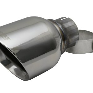 Single 4.5 Inch Polished Pro-Series Tip (Clamp Included) 2.5 Inch Inlet Fits 11-Present Dodge Durango, 5.7L V8 (2 Required) Stainless Steel Corsa Performance