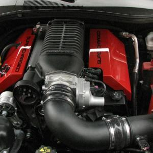Camaro V8 Whipple S/C Cold Air Intake 10-15 Camaro V8 Roto-fab