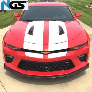 OE Style Front Splitter Lip (Matte/Gloss) | 2016-2020 Camaro LT/RS/SS