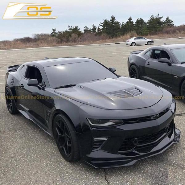 Camaro ZL1 Splitter Lip (Black Primer/Gloss Black/Carbon Fiber)| 2016-18 Camaro LT/RS/SS/LT1
