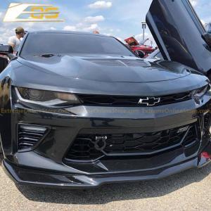 Camaro ZL1 Splitter Lip (Black Primer/Gloss Black/Carbon Fiber)  2016-18 Camaro LT/RS/SS/LT1