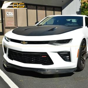 T6 Carbon Fiber Front Splitter Lip & Side Skirts Kit | 2016-2020 Camaro SS