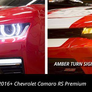 Premium Switchback LED Halo Kit   2016 – 2018 Camaro   Diode Dynamics
