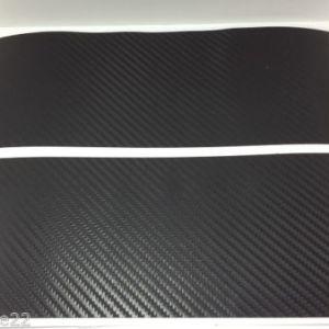Carbon Fiber Universal Chevy Bowtie Emblem Wrap Sheet Kit Overlay