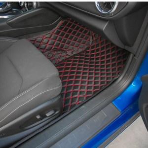 Diamond Stitch Interior Mats (Many Colors) | 2016-2021 Chevy Camaro