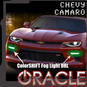 Oracle Color-Shift Fog Light DRL Kit | 2016-19 Camaro