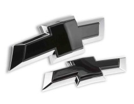 Black Chevy Bowtie Kit (GM 84219485) – 2016-2020 Camaro