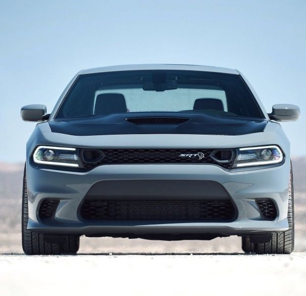 Dodge Charger SRT Style Upper & Lower Grilles w/ Air Ducts 2PC   2015 – 2021 Dodge Charger