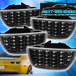 Smoked Sequential Tail Lights | 2010-2013 Chevy Camaro