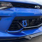 Hyper Blue Aluminum Tow Hook 2016 2020 Chevy Camaro Next Gen Speed