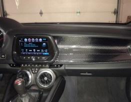Next-Gen Carbon Fiber Dash Overlay | 2016-2020 Camaro