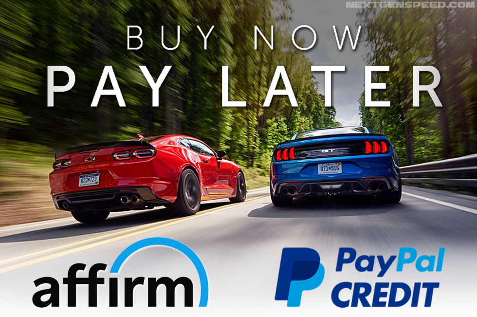 Buy Now & Pay Later with Affirm & PayPal Financing!