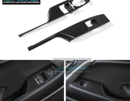Carbon Fiber Window Switch Panels | 2016-2020 Camaro