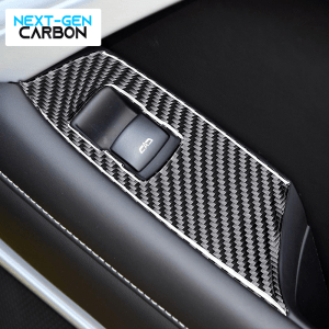 Carbon Fiber Window Switch Covers | 2016-2021 Chevy Camaro
