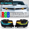 Color Changing RGB 6th Gen Style Headlights | 2014-2015 Chevy Camaro
