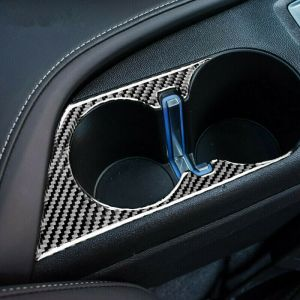 Carbon Fiber Cup Holder Cover | 2016 – 2021 Chevy Camaro