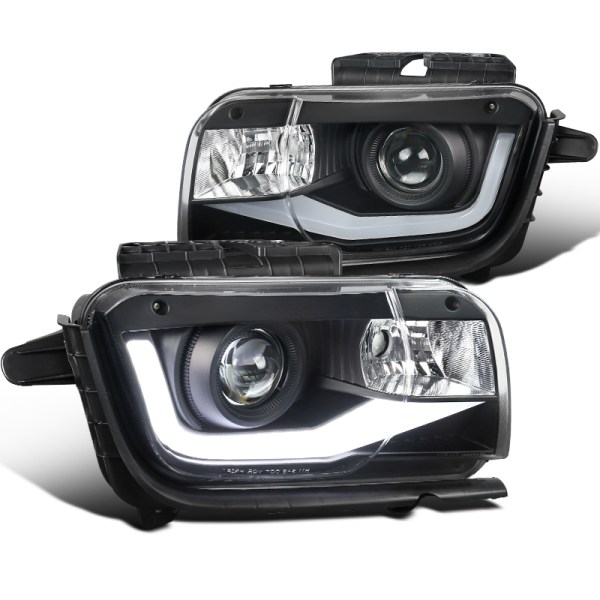 Spec-D LED Tube Projector Headlights | 2010-2013 Camaro