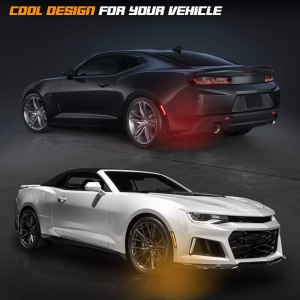 Smoked LED Side Markers | 2016-2020 Chevy Camaro