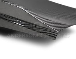 Double Sided Carbon Fiber Decklid w/ Spoiler – 2016-2020 Camaro   Anderson Composites